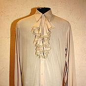 Одежда ручной работы. Ярмарка Мастеров - ручная работа Свадебная батистовая мужская рубашка. Handmade.