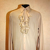 Одежда handmade. Livemaster - original item Wedding cambric shirt. Handmade.