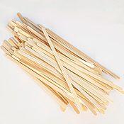 Материалы для творчества handmade. Livemaster - original item Wooden sticks, 100 PCs.. Handmade.