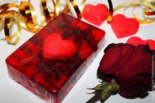 Мыло ручной работы. Ярмарка Мастеров - ручная работа. Купить Мыло с ароматом свежесрезанных роз. Handmade. Мыло ручной работы