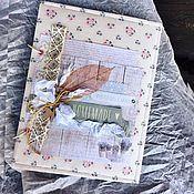 Подарки к праздникам ручной работы. Ярмарка Мастеров - ручная работа Арт бук, скрапальбом, альбом для творческих заметок, фотоальбом. Handmade.