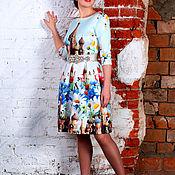 Одежда ручной работы. Ярмарка Мастеров - ручная работа Платье Кремль с ромашками. Handmade.