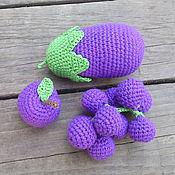 Куклы и игрушки ручной работы. Ярмарка Мастеров - ручная работа полезный фиолетовый набор.. Handmade.