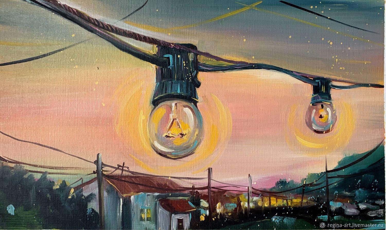 Pintura al óleo 'Luz», Pictures, Kemerovo,  Фото №1