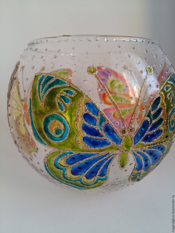 """Подсвечник 'Бабочки"""""""