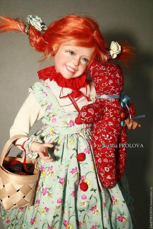 Коллекционные куклы ручной работы. Ярмарка Мастеров - ручная работа. Купить Манюня. Handmade. Комбинированный, Ливинг долл