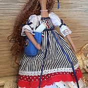 """Куклы и игрушки ручной работы. Ярмарка Мастеров - ручная работа Кукла-тильда """" Морская"""". Handmade."""