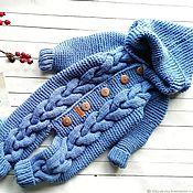 Одежда детская handmade. Livemaster - original item Knitted rompers. Handmade.