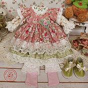 Куклы и игрушки handmade. Livemaster - original item Clothes for dolls. Outfit boho, shabby chic for Anna. Handmade.