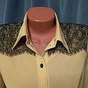 Одежда ручной работы. Ярмарка Мастеров - ручная работа Блузка-боди. Handmade.