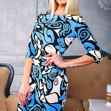 Одежда ручной работы. Ярмарка Мастеров - ручная работа Платье 063. Handmade.