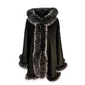 Одежда handmade. Livemaster - original item Cashmere Poncho (WS-01/206). Handmade.
