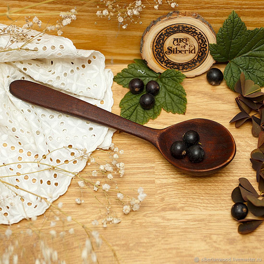 Wooden spoon 190#8, Spoons, Novokuznetsk,  Фото №1