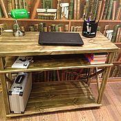 Для дома и интерьера ручной работы. Ярмарка Мастеров - ручная работа Письменный, компьютерный стол. Handmade.