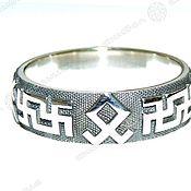 Русский стиль handmade. Livemaster - original item RING 4 AMULETS. Handmade.