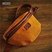 Сумки и аксессуары handmade. Livemaster - original item Colchicina bag cognac belt. Handmade.