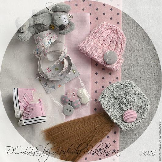 Куклы и игрушки ручной работы. Ярмарка Мастеров - ручная работа. Купить Набор для самостоятельного пошива куколки 90. Handmade.
