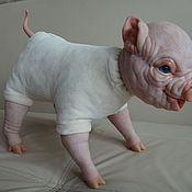 Куклы и игрушки ручной работы. Ярмарка Мастеров - ручная работа Свинка реборн. Handmade.