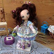 Куклы и игрушки ручной работы. Ярмарка Мастеров - ручная работа Цветочек Лаванды. Handmade.