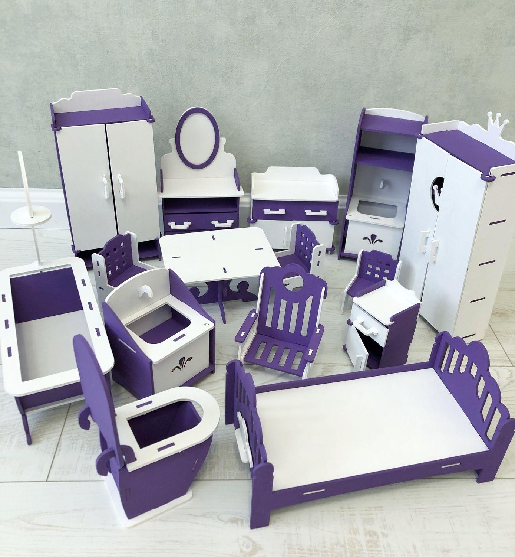 Набор мебели для БАРБИ 30 см, Мебель для кукол, Ростов-на-Дону,  Фото №1