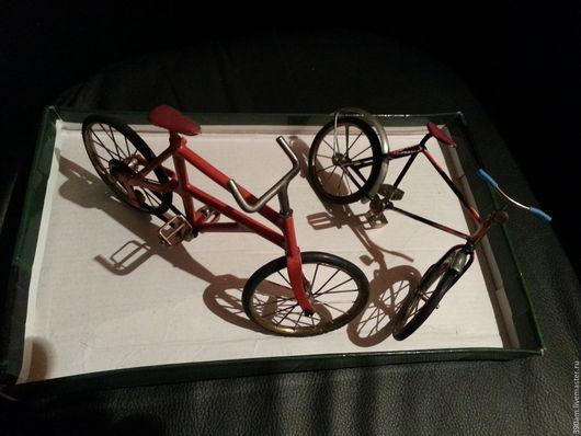 Миниатюра ручной работы. Ярмарка Мастеров - ручная работа. Купить Велосипед. Handmade. Велосипед, металл