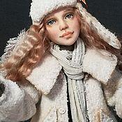 """Куклы и пупсы ручной работы. Ярмарка Мастеров - ручная работа """"Зимний Ангел"""". Handmade."""