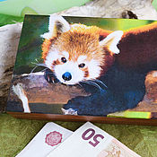 Сувениры и подарки handmade. Livemaster - original item Copernica red Panda - life is good. Handmade.