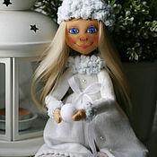 Куклы и игрушки ручной работы. Ярмарка Мастеров - ручная работа Текстильная кукла Эльза. Handmade.