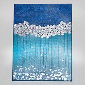 Картины и панно handmade. Livemaster - original item Pictures: Silver. Handmade.