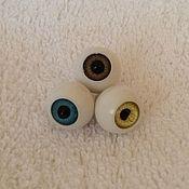 Материалы для творчества ручной работы. Ярмарка Мастеров - ручная работа Глаза сфера для кукол. Handmade.