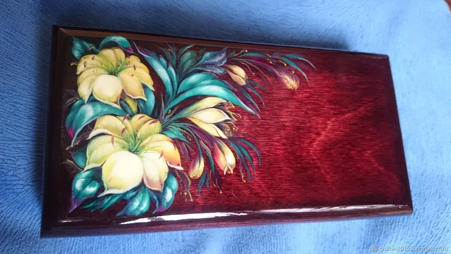 """Casket """"LILIES"""", Box, Moscow,  Фото №1"""