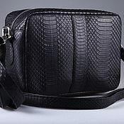 Сумки и аксессуары handmade. Livemaster - original item Shoulder bag made of Python IMP0558B leather. Handmade.