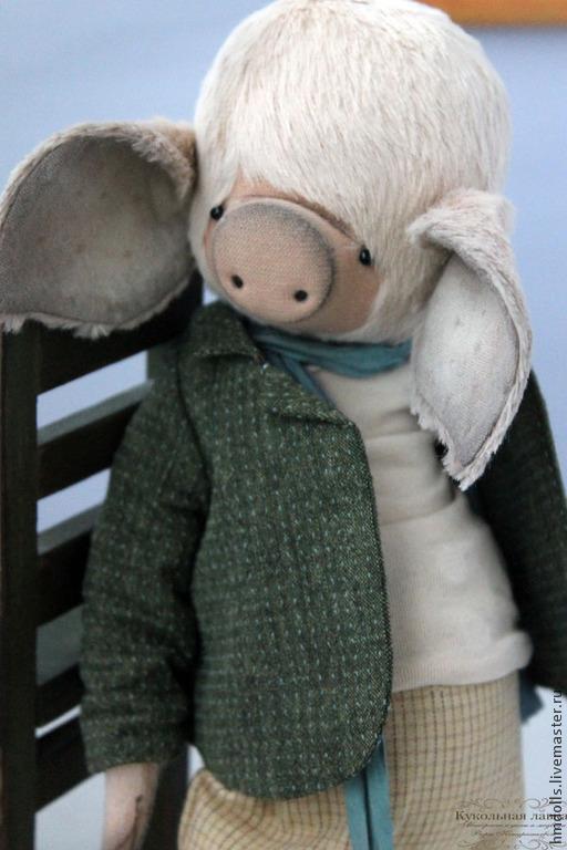 Мишки Тедди ручной работы. Ярмарка Мастеров - ручная работа. Купить Шпунтик. Handmade. Бежевый, тедди, вискоза Германия
