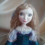 Куклы и игрушки ручной работы. Ярмарка Мастеров - ручная работа Будуарная кукла Алина. Handmade.