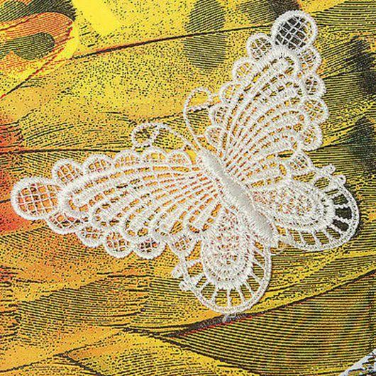 Другие виды рукоделия ручной работы. Ярмарка Мастеров - ручная работа. Купить Бабочка кружевная. Handmade. Бабочка кружевная
