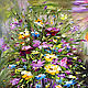 Oil painting Bouquet of freshness. Pictures. Zabaikalie. Online shopping on My Livemaster.  Фото №2