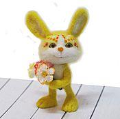 Куклы и игрушки ручной работы. Ярмарка Мастеров - ручная работа Солнечный зайчик. Интерьерная валяная игрушка. Handmade.