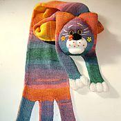 """Работы для детей, ручной работы. Ярмарка Мастеров - ручная работа Котошарф """"Мурка-Гламурка"""". Handmade."""