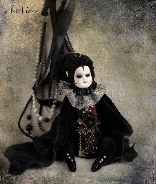 Коллекционные куклы ручной работы. Ярмарка Мастеров - ручная работа. Купить Хранитель Секретов. Handmade. Черный, летучая мышь, хранитель