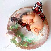 Куклы и игрушки ручной работы. Ярмарка Мастеров - ручная работа Малыш 5см.. Handmade.