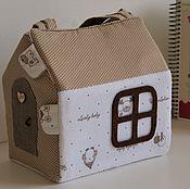 Работы для детей, ручной работы. Ярмарка Мастеров - ручная работа сумка-домик. Handmade.