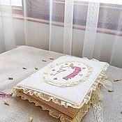 """Блокноты ручной работы. Ярмарка Мастеров - ручная работа Блокнот ручной работы """"Единорожек"""". Handmade."""