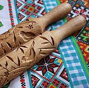 Для дома и интерьера ручной работы. Ярмарка Мастеров - ручная работа Скалка для печенья и пряников птицы. Handmade.