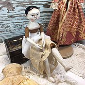 Куклы и игрушки ручной работы. Ярмарка Мастеров - ручная работа Деревянная кукла. Handmade.