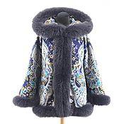 Одежда handmade. Livemaster - original item New 2020! Women`s short coat with fur. Handmade.