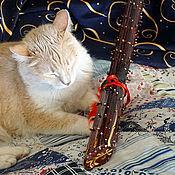 Музыкальные инструменты handmade. Livemaster - original item A rain stick ( Rainstick) (brown 60-65 cm). Handmade.