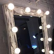 Для дома и интерьера ручной работы. Ярмарка Мастеров - ручная работа Копия работы Гримерное зеркало/Зеркало с лампочками Washington. Handmade.