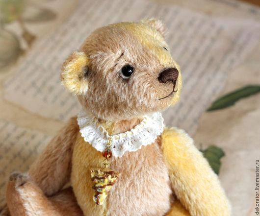 """Мишки Тедди ручной работы. Ярмарка Мастеров - ручная работа. Купить Мишка """"Лимонный пай"""". Handmade. Лимонный, подарок"""