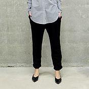 Одежда ручной работы. Ярмарка Мастеров - ручная работа Вязаные брюки Modern. Handmade.