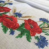 Свадебный салон handmade. Livemaster - original item Linen towel with embroidery